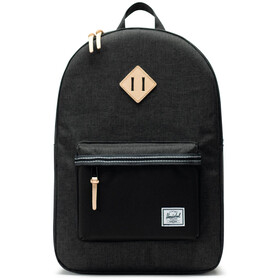 Herschel Heritage Backpack 21,5l black crosshatch/black